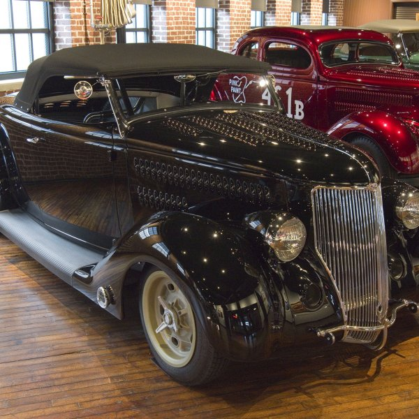 1936 Ford Deluxe Roadster - George's Ride
